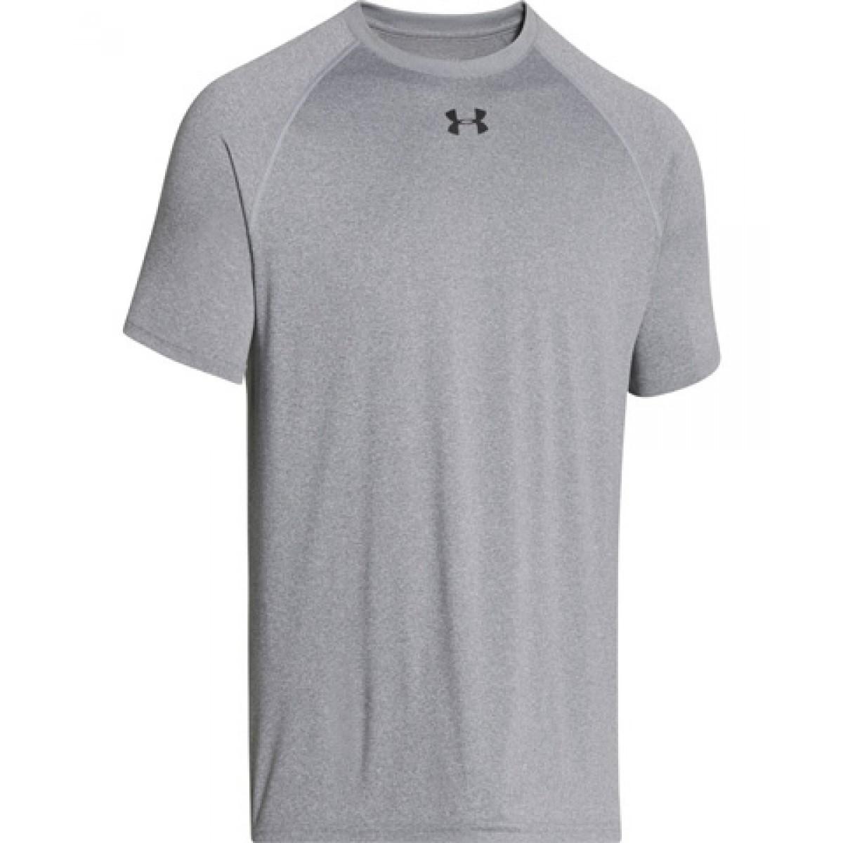 Gray Under Armor Short Sleeve