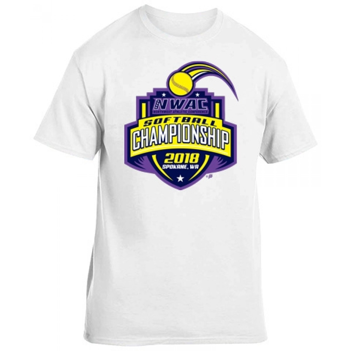 National Guard NWAC Softball T-shirt